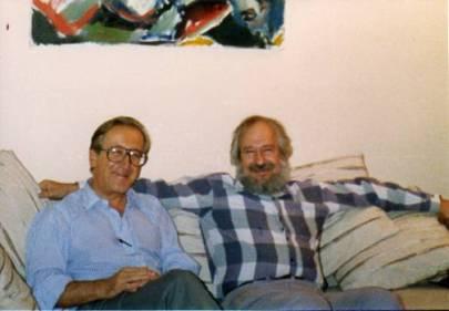 Horacio C Reggini y Seymour Papert
